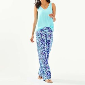 Lilly Pulitzer Bal Harbour Mid Rise Palazzo Pants